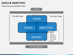 Goals and objectives PPT slide 4