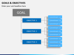 Goals and objectives PPT slide 7