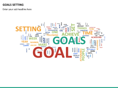 Goals setting PPT slide 26