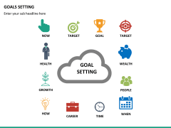 Goals setting PPT slide 17
