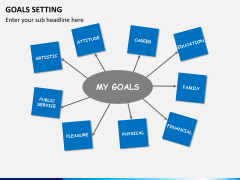 Goals setting PPT slide 1