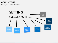 Goals setting PPT slide 10