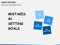 Goals bundle PPT slide 54