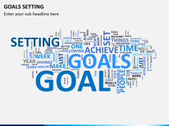 Goals setting PPT slide 13
