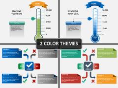 Goals & Solutions PPT cover slide