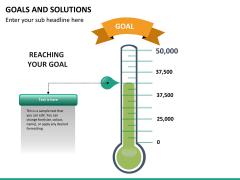 Goals & Solutions PPT slide 8