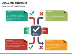Goals & Solutions PPT slide 10