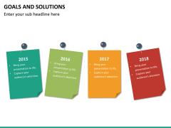 Goals & Solutions PPT slide 14