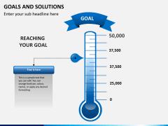 Goals & Solutions PPT slide 1