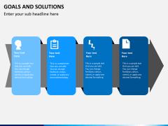 Goals & Solutions PPT slide 2
