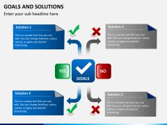 Goals & Solutions PPT slide 3
