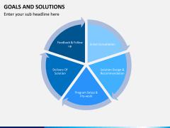 Goals & Solutions PPT slide 4