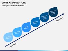 Goals & Solutions PPT slide 6