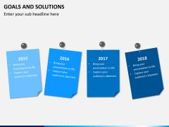 Goals & Solutions PPT slide 7