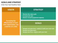 Goals and Strategy PPT slide 20