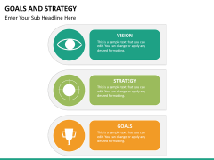 Goals and Strategy PPT slide 23