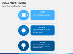 Goals and Strategy PPT slide 9