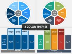 Go to market plan PPT cover slide