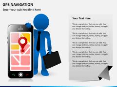GPS navigation PPT slide 1