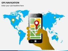 GPS navigation PPT slide 2