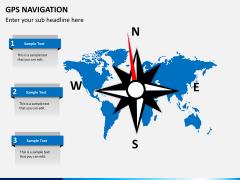 GPS navigation PPT slide 3