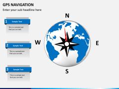 GPS navigation PPT slide 4