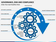 risk and compliance PPT cover slide