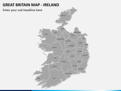 Great britain map PPT slide 13