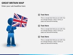 Great britain map PPT slide 22