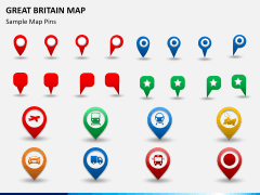 Great britain map PPT slide 23