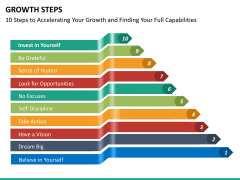 Growth steps PPT slide 13