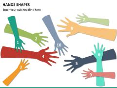 Hands shapes PPT slide10