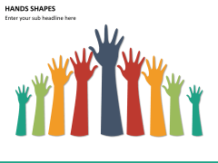 Hands shapes PPT slide12