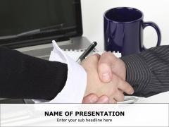 Handshake PPT Slide 1