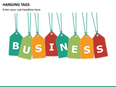 Hanging tags PPT slide 9