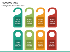 Hanging tags PPT slide 11