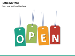 Hanging tags PPT slide 13