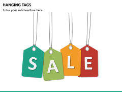 Hanging tags PPT slide 14