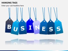 Hanging tags PPT slide 1