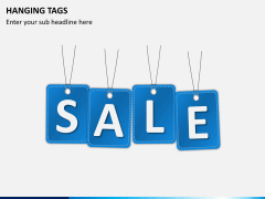 Hanging tags PPT slide 2