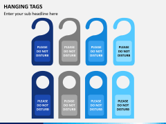 Hanging tags PPT slide 3