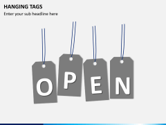 Hanging tags PPT slide 5