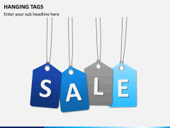Hanging tags PPT slide 6