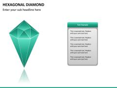 Hexagonal diamond PPT slide 6