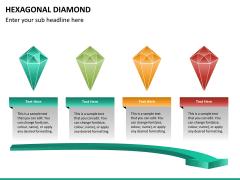 Hexagonal diamond PPT slide 7