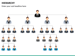 Hierarchy PPT slide 14