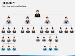 Hierarchy PPT slide 4