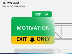 Highway signs PPT slide 3