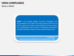 HIPAA Compliance PPT slide 2