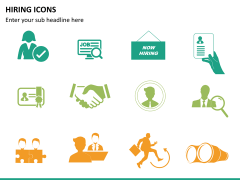 Hiring icons PPT slide 7